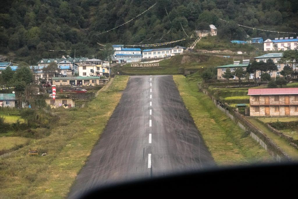The-Himalayas-Getting-There-Lukla-runway
