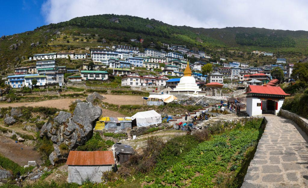 The-Himalayas-Getting-There-Namche-Bazaar