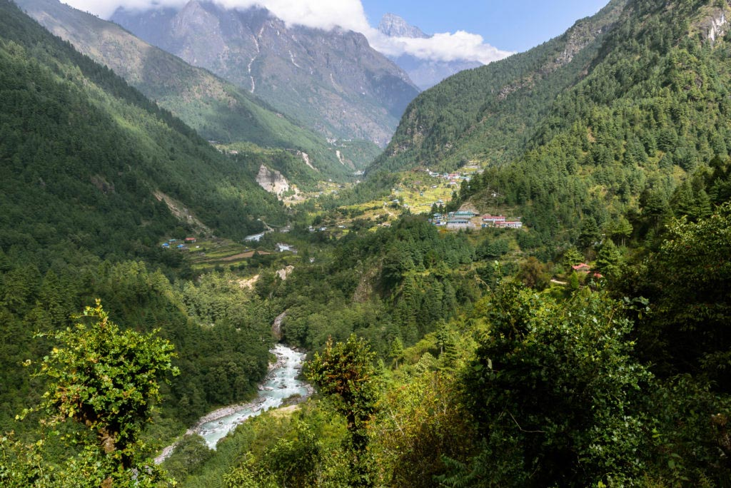 The-Himalayas-Getting-There-Phakding-river
