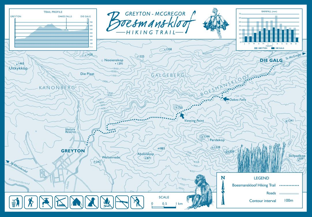 boesmanskloof-capenature-map