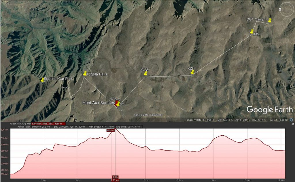 drakensberg-grand-traverse-day1-route