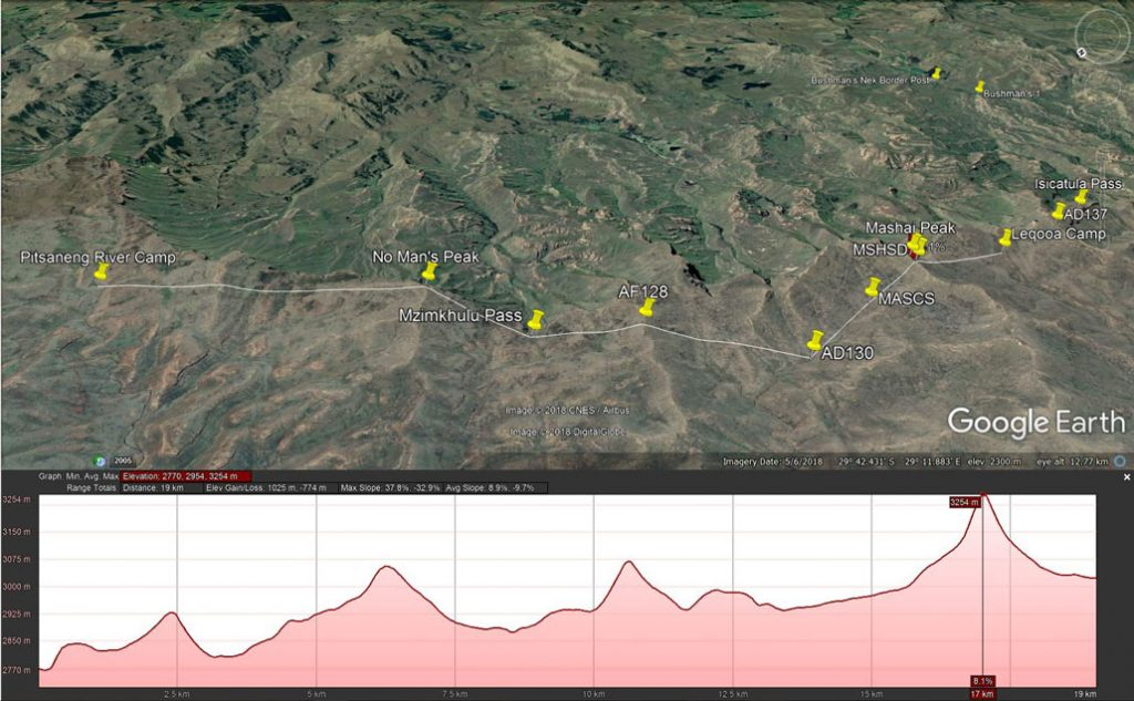 drakensberg-grand-traverse-day9-route