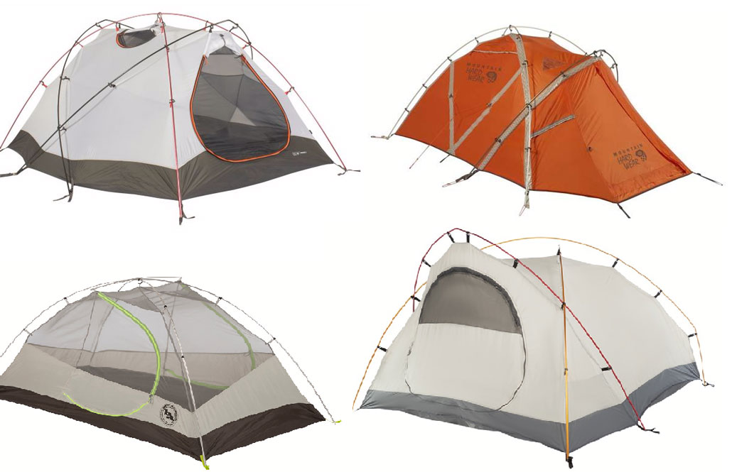 hiking-tents-pole-configurations