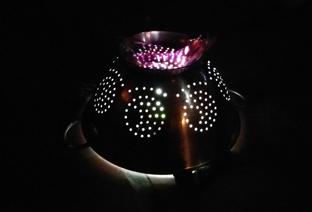 whale-trail-colander-disco-ball
