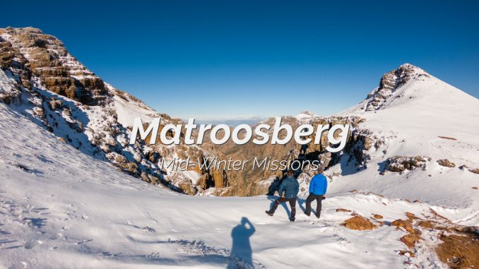 Matroosberg 2019 Snow covered mountains