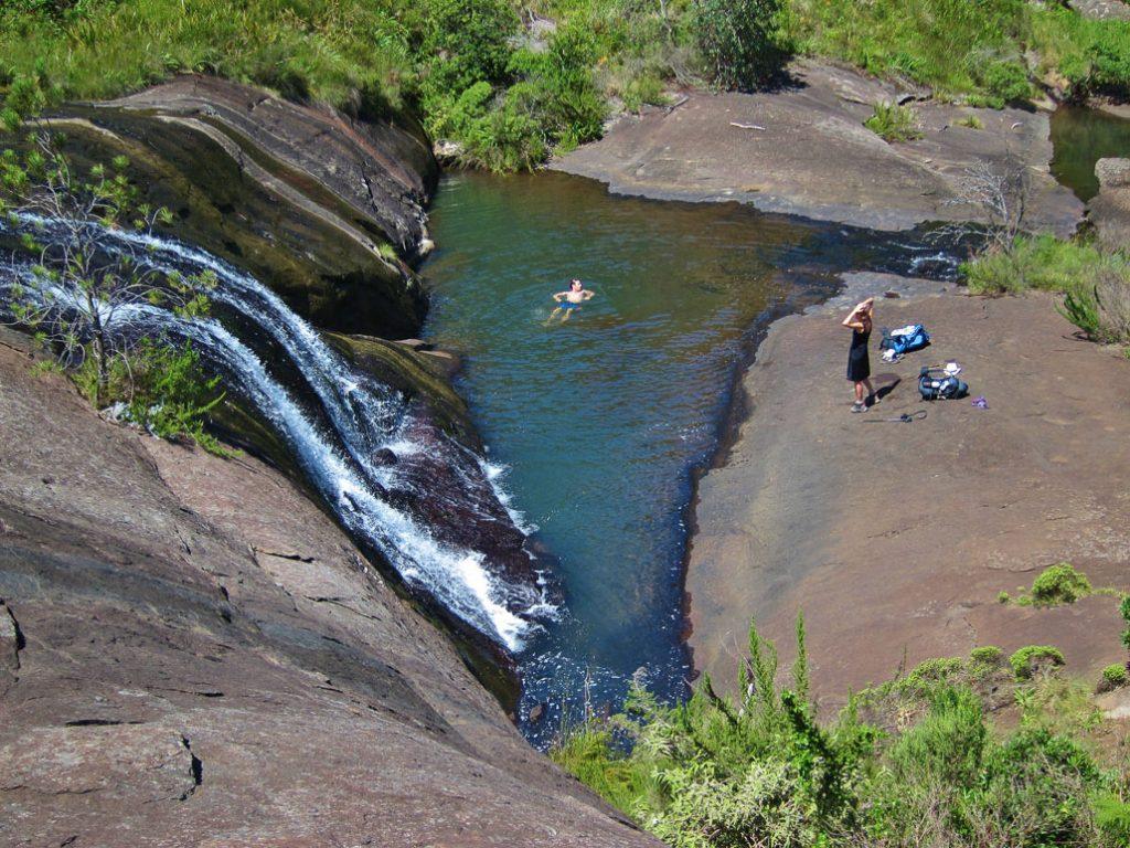 amatola-day5-hiker-swimming