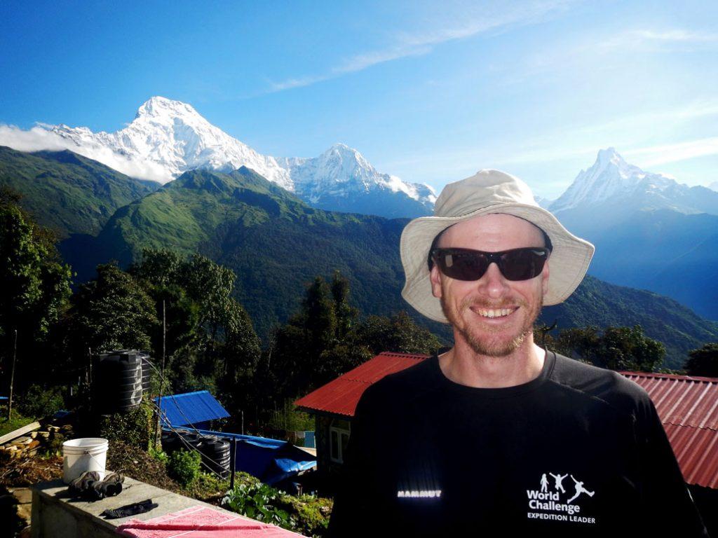 Grant Christie, Annapurna, Nepal