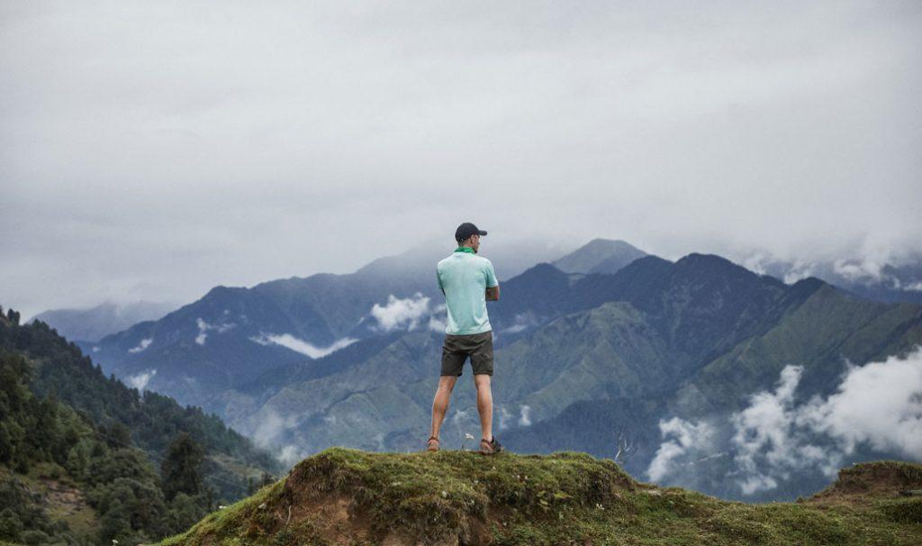Grant Christie, Himalayas, Photo by Nico Wills