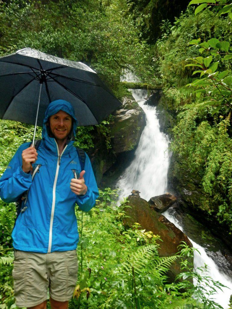 Grant Christie, Nepal, Monsoon