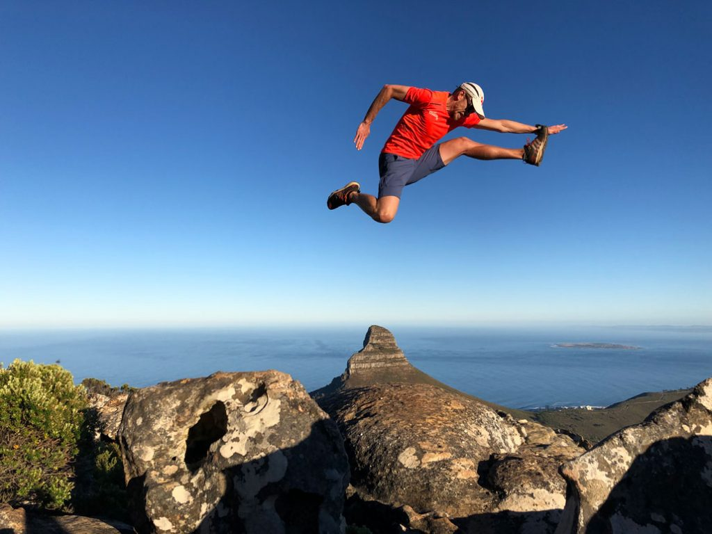 Grant Christie, Lions Head, India Venster, Table Mountain