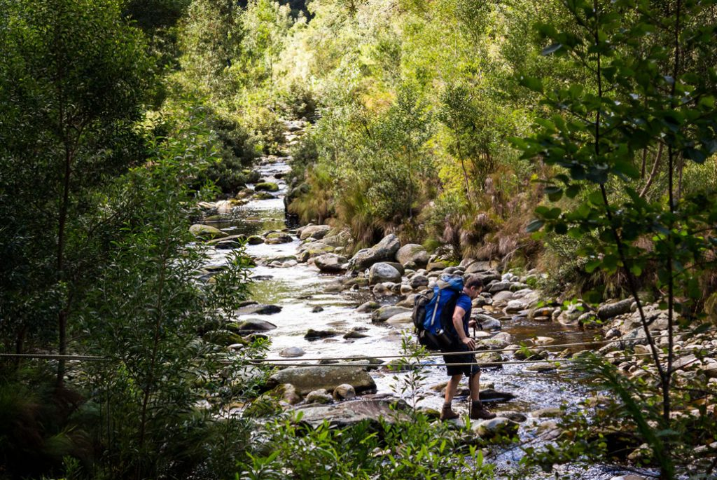 outeniqua-trail-hiker-crossing-river